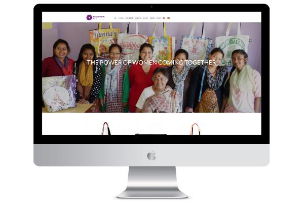 web design london shakti screenshot