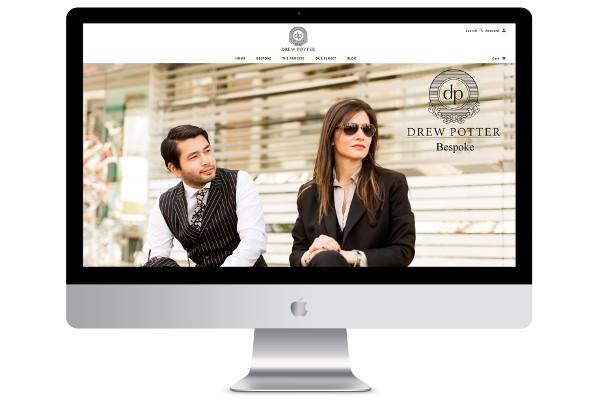 web design london ecommerce screenshot