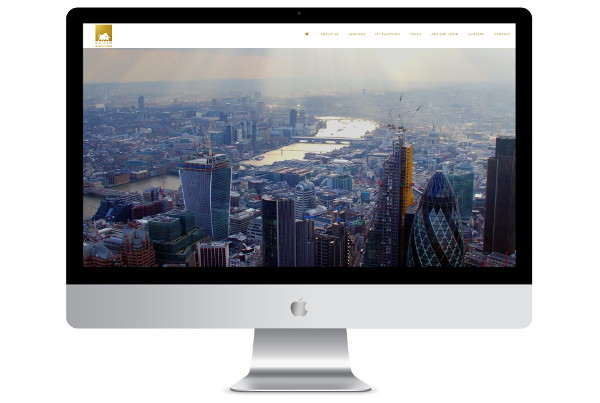 web design london kaplan screenshot