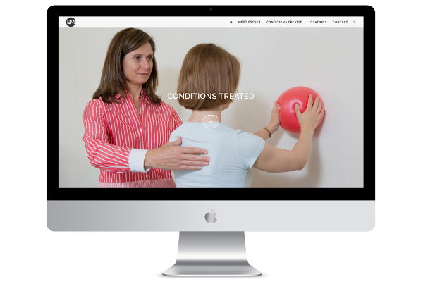 Website Design for Physiotherapist on WordPress