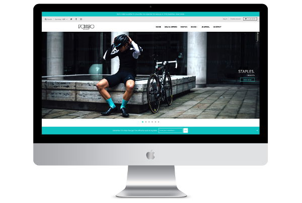 Shopify eCommerce Design & Development for Cycling Brand