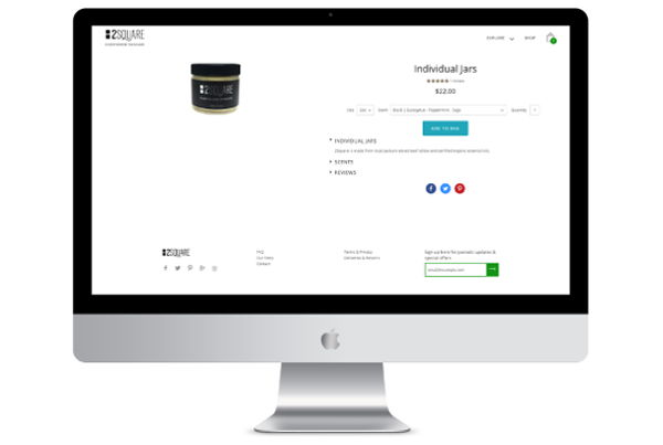 Shopify eCommerce Development for Skincare Brand