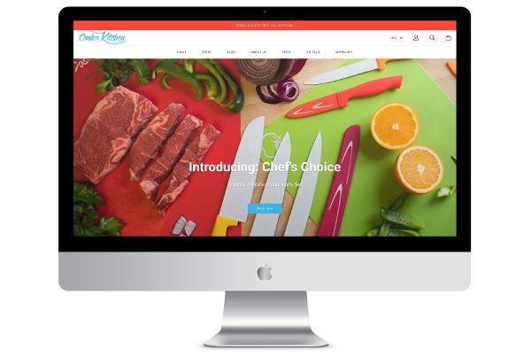 Shopify Theme Setup & Customisation for a Kitchen Company