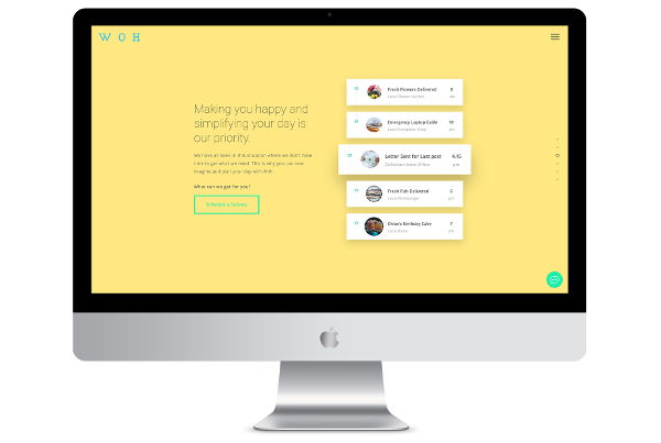 Custom WordPress Design & Development for London delivery Company