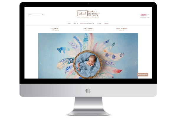 Shopify Theme Design & Development – Sweet Bambini