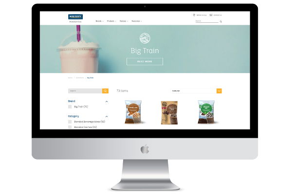 Multiple Bespoke Shopify Theme Builds  – Kerry Foodservice