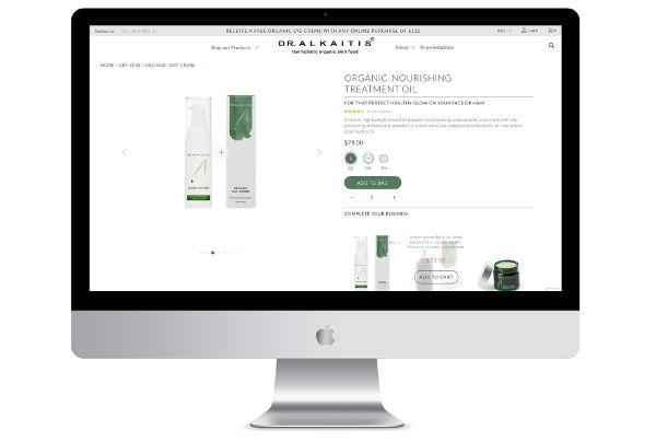 Shopify Design & Development Custom Theme – Dr Alkaitis